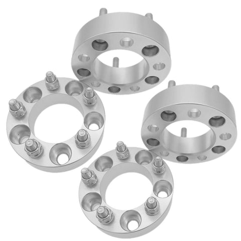 "4PCS 1"" inch 5x4.75 25mm Wheel Spacers 12x1.5 Studs Adapters For Chevrolet"