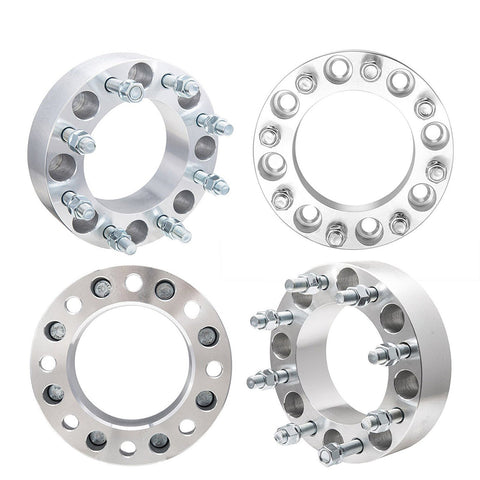 "(4)x2"" Wheel Spacer 8 Lug Adapters 8x170 For Ford F250 F350 Super Duty Excursion"