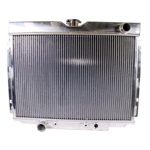 "3 Row Cooling Aluminum Radiator &16"" Blade Fan For 67-70 Ford Mustang/Falcon V8"