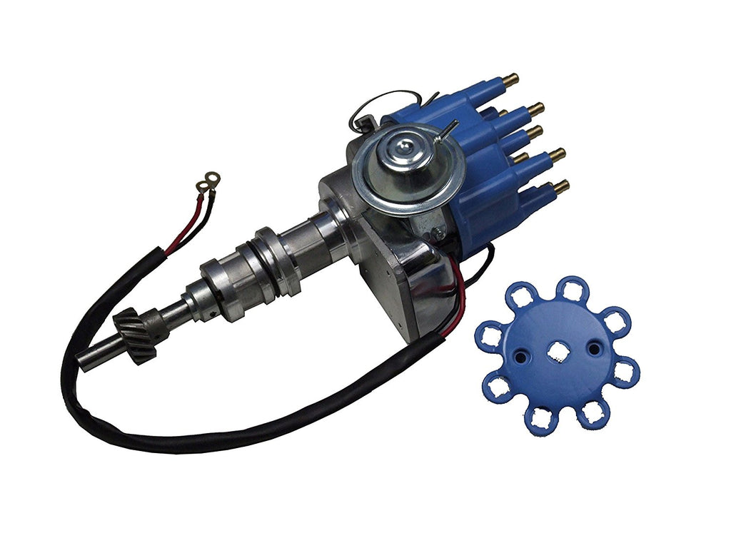 BLUE CAP HEI ELECTRONIC DISTRIBUTOR 260 289 302 347 5.0 5.0L FITS SB FORD