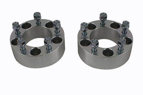 "2 pcs Wheel Spacers Adapters 5Lug 1/2"" x 20