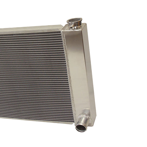 "For SBC BBC Chevy GM Fabricated Aluminum Radiator 25"" x 19"" x 3"" Overall"