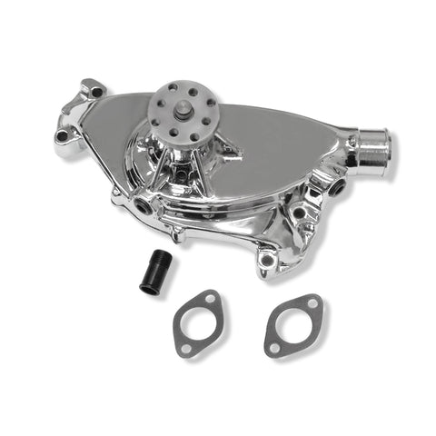 BBC chevy 396 427 454 short chrome aluminum water pump High Volume