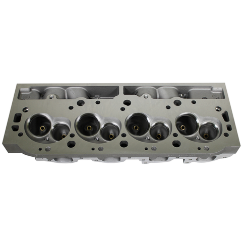 For BBC Chevy 454 Rectangle Port Bare Aluminum Cylinder Head 124cc 345cc 2 Set