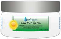 a.m. face cream (aka Skin Feast)