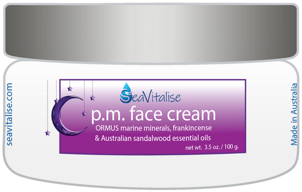 p.m. face cream (aka Mineral Intensive)