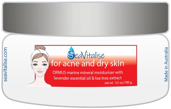 for acne and dry skin