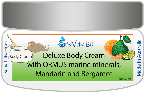 New! Deluxe Mandarin and Bergamot Body Cream 250g