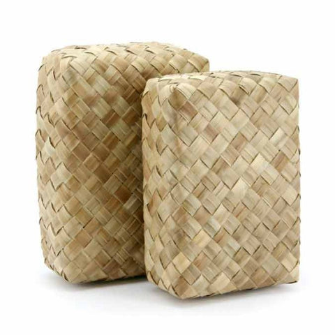 Pandanus Rectangular Box - Natural