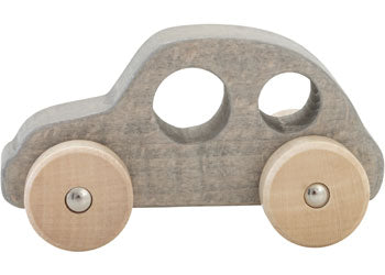Chunky wooden car - Grey