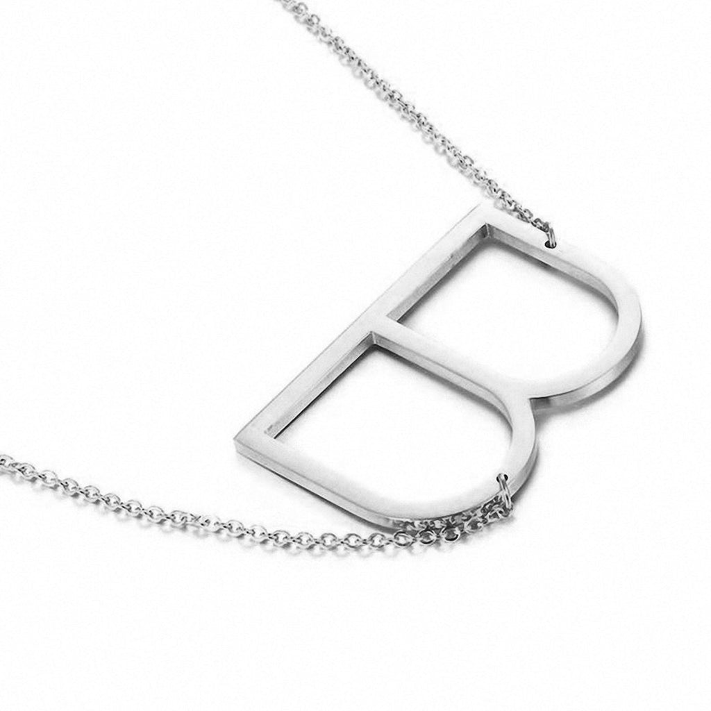 Name Initial Letter Choker Necklace - NeedIt.ca