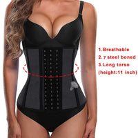 Breathable Latex Waist Trainer