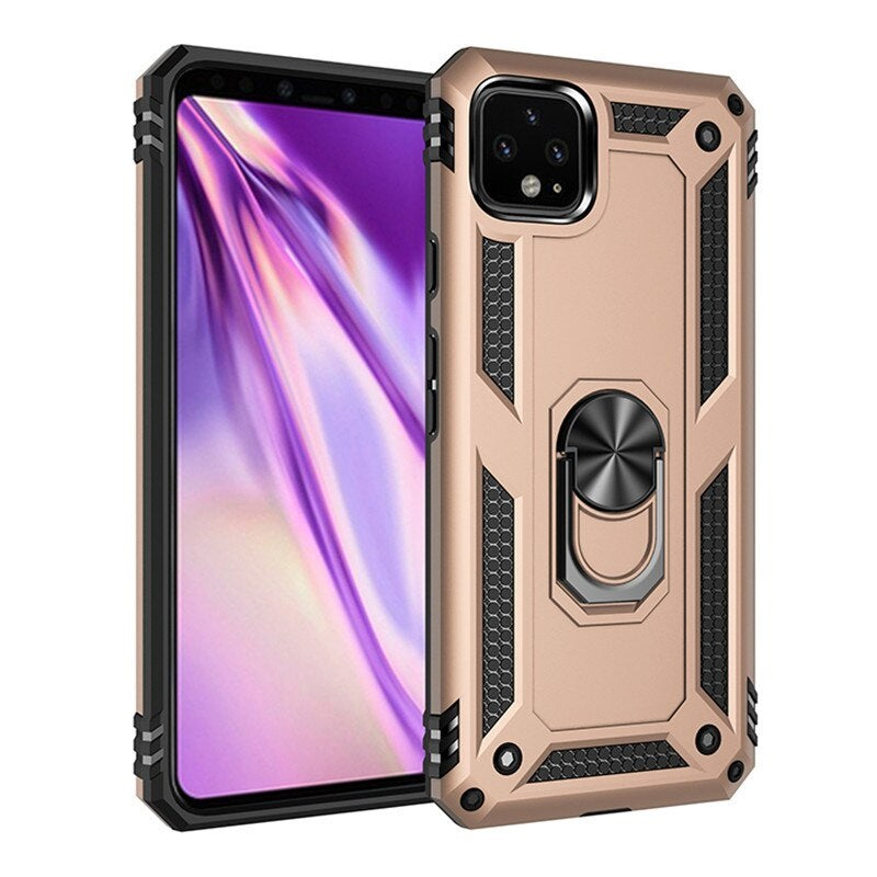 Luxury Case For Google Pixel 4 XL with Metal Ring Holder