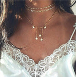 Multi Layered Choker Necklace - NeedIt.ca
