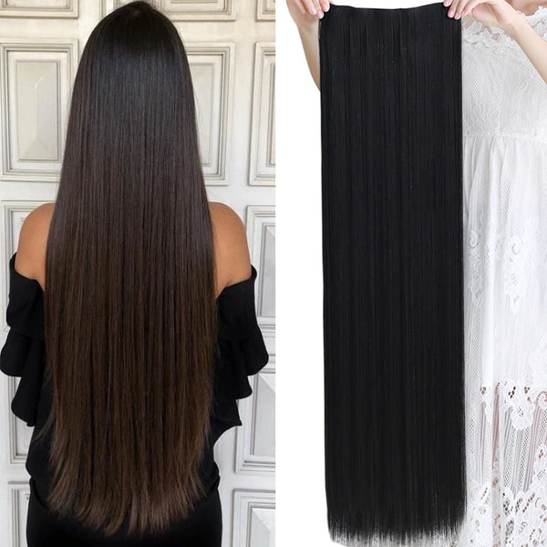 "Premium 38"" Straight Clip in Hair Extensions"