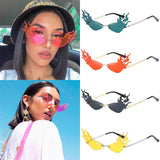 New Style Fire Flame Women's Sunglasses