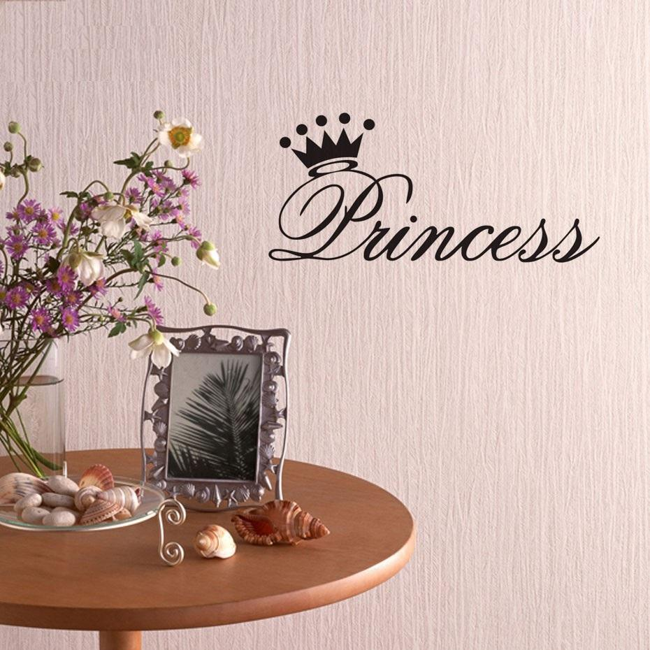 """Princess"" Wall Decal"