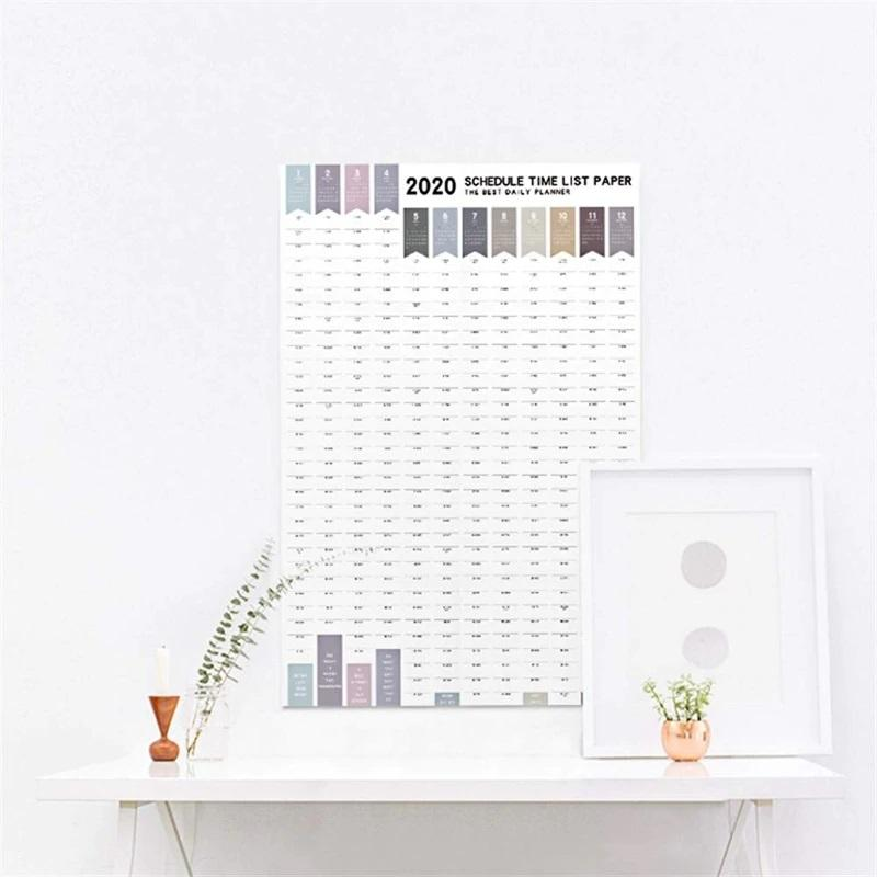 Wall Calendar Daily Planner For 2020. Year - NeedIt.ca