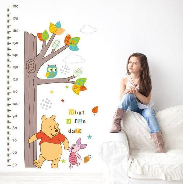 Height Measurement Sticker with Winnie the Pooh - NeedIt.ca