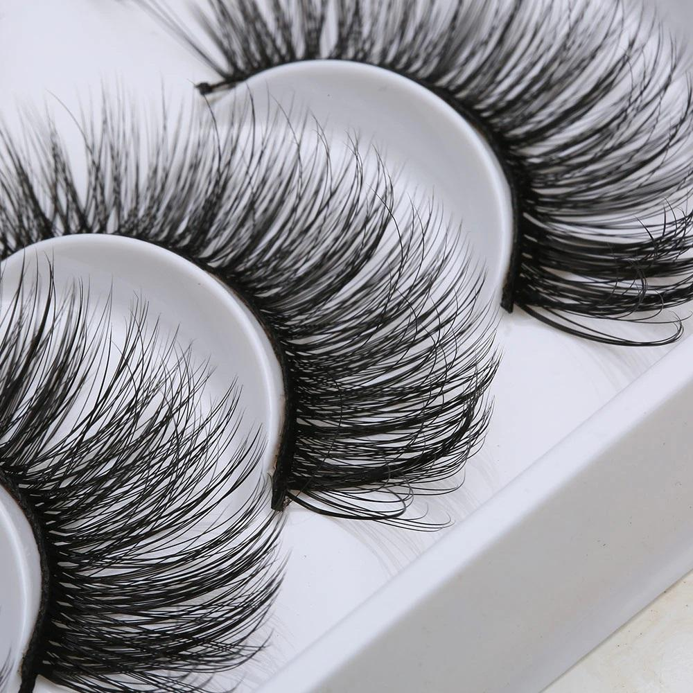 20 Pairs/set 3D Thick Natural Handmade Lashes