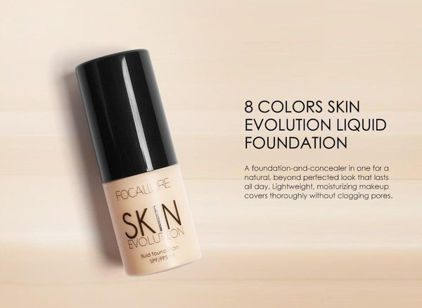 Base Face Liquid Foundation Cream Full Coverage Concealer Oil-control - NeedIt.ca
