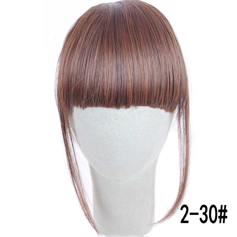 Clip-On Hair Bangs Heat Resistant Synthetic - NeedIt.ca