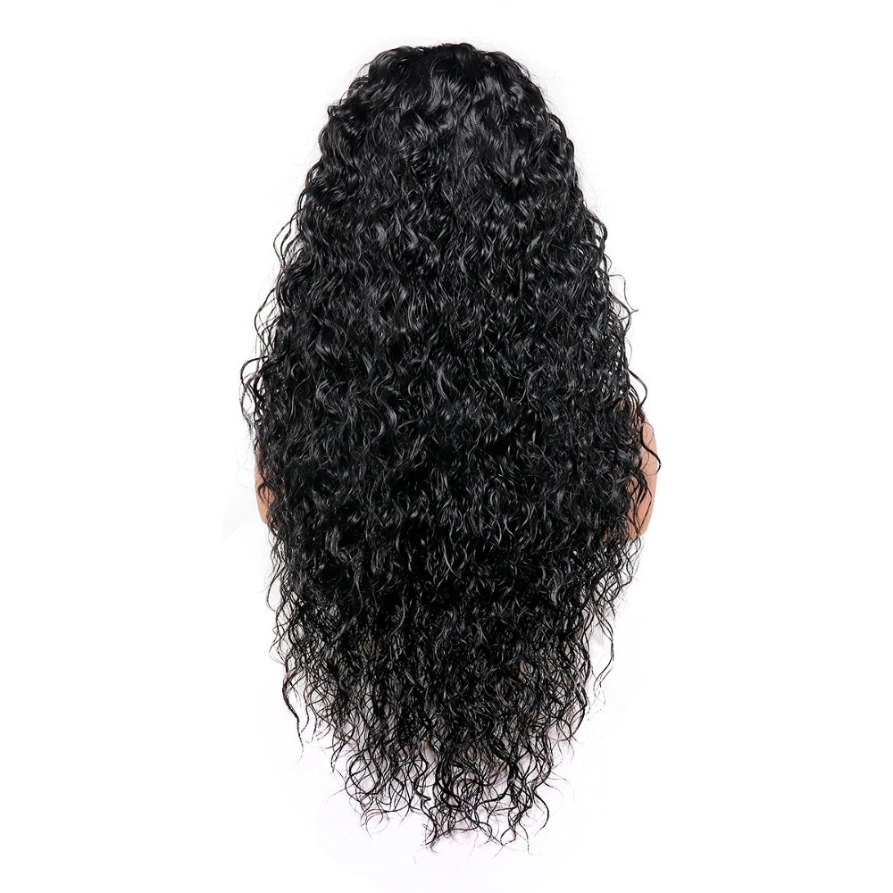 "Tara - Curly Black 24"" Lace Front Wig"