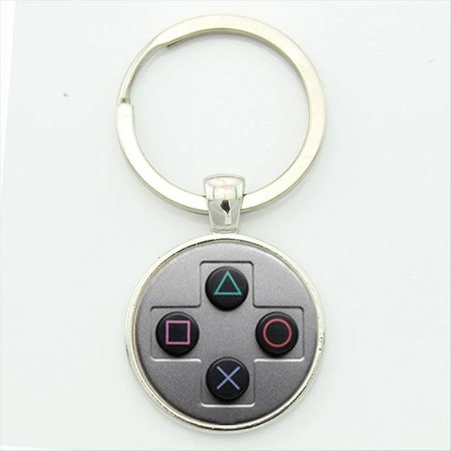 Play Station Game Controller Buttons Key Chain - NeedIt.ca