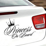Princess on Board Car Decal - NeedIt.ca