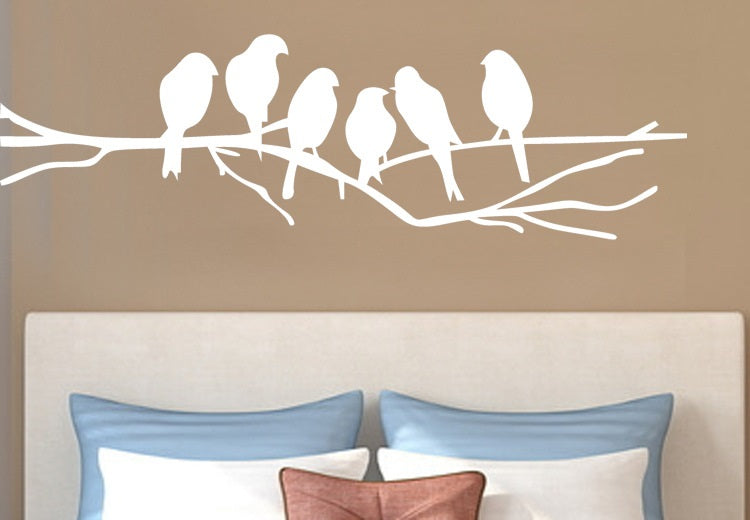 Birds on Branches Wall Decal