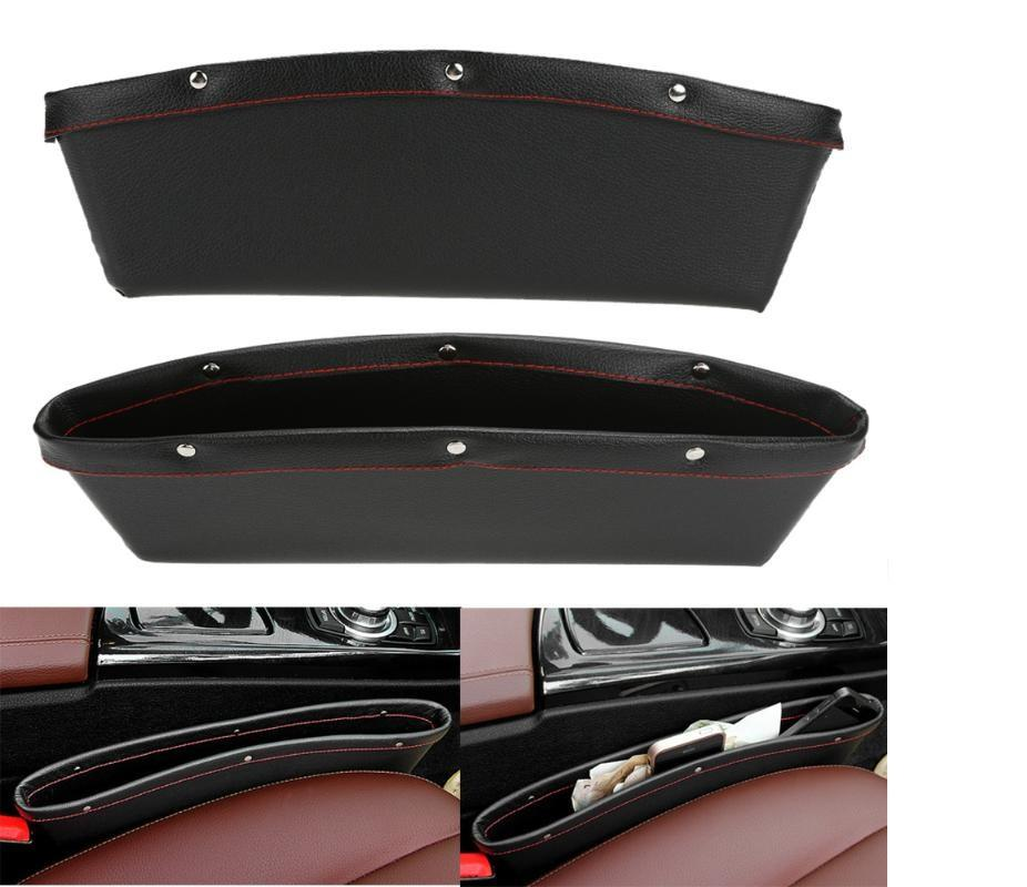Leather Seat Storage Box Organizer - NeedIt.ca