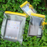 3pc Waterproof Clear Pouch Set