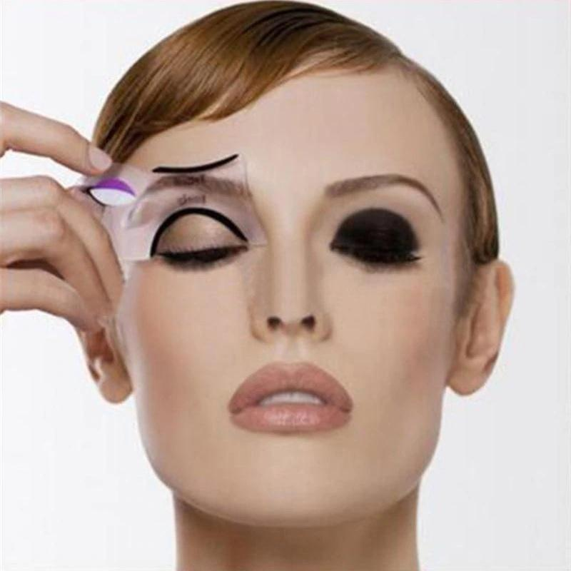 2 pcs Winged Eyeliner Stencil - Cat Eye Makeup