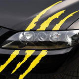 Monster Scratch for Headlight Car Decal - NeedIt.ca