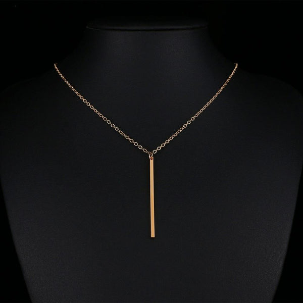 Fashion Stick Pendant Necklace - NeedIt.ca