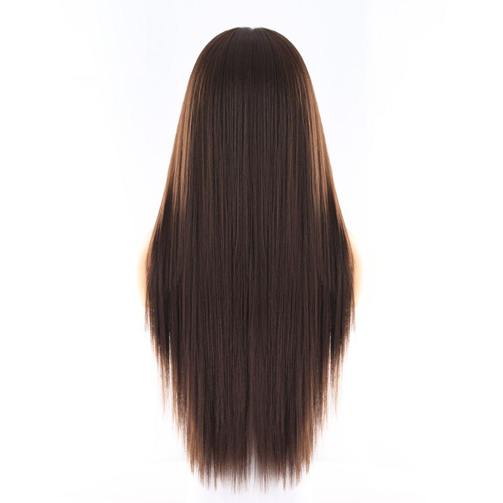 "Georgia - Natural brown Lace Front Wig 26"" long - NeedIt.ca"