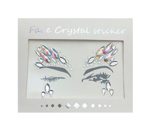 Adhesive Crystal Face Jewelry - NeedIt.ca