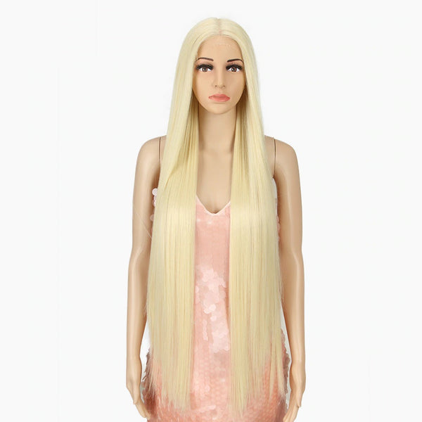 "Melodie - Straight Beach Blonde Lace Front Wig 38"" Long"