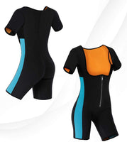 Neoprene Sauna Full Body Suit with Sleeves