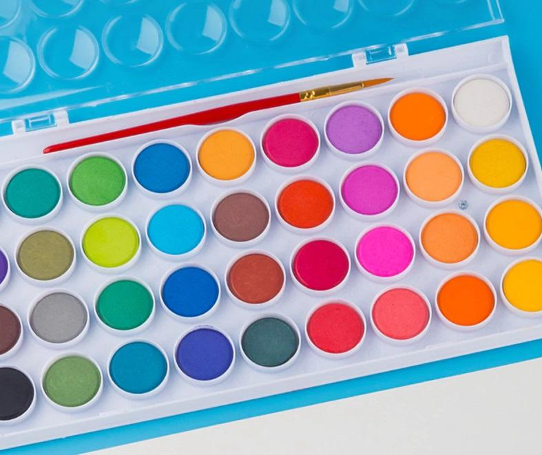 High Quality Portable Solid Watercolor Paint Set - NeedIt.ca