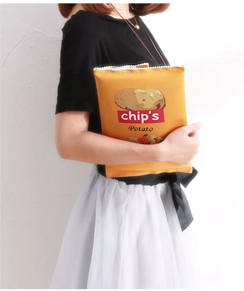 Potato Chips Women's Envelope Clutch Bag
