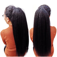"24"" long Drawstring Ponytail Hair Extension"