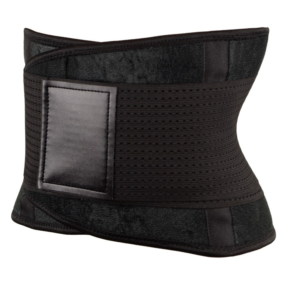 Neo Sweat Velcro Waist Trainer Belt With  Neoprene