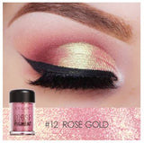 Long-lasting Glitter Loose Eye Pigment Powder
