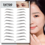 4D Stick-on Eyebrows Tattoo
