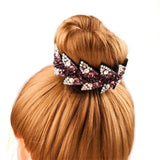 Fashion Flower Hair Claw with Rhinestones - NeedIt.ca