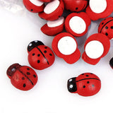 Wooden Ladybug Stickers - NeedIt.ca