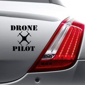 """Drone Pilot"" Car Decal - NeedIt.ca"