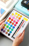 Portable Watercolors 36 colours/set - NeedIt.ca