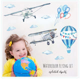 Hot Air Balloon Wall Sticker - NeedIt.ca